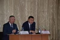 Сондай-ақ Жанат Сәдуақасов Куйбышев ауылдық округінде болды